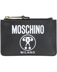 Moschino - Logo Pouch - Lyst