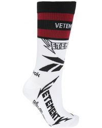 Vetements - X Reebok Cut Up Cotton Blend Socks - Lyst