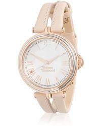 Vivienne Westwood | Farringdon Watch Light Pink/rose Gold | Lyst