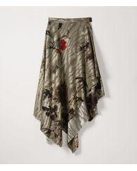 Vivienne Westwood - Blanket Skirt Chinese Peony Print - Lyst