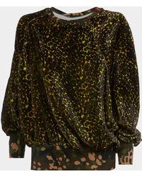 Vivienne Westwood - Ela Sweatshirt Leopard Print - Lyst
