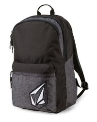 Volcom - Academy Backpack - Ink Black - O/s - Lyst