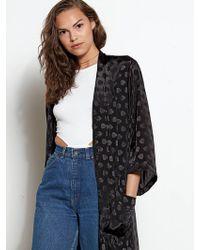 Volcom - Reblogged Kimono - Black - Osfm - Lyst