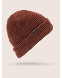 Volcom - Sweep Lined Beanie - Lyst