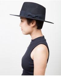 Soulland - Bille Fedora Hat / Black - Lyst