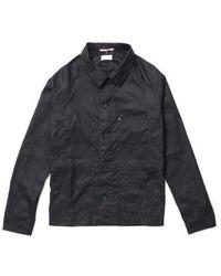Apolis - Waxed French Work Jacket Black - Lyst