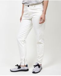 Objects Without Meaning - Owm Boy Zip Jean / Chalk - Lyst