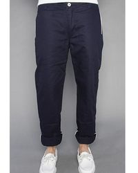 General Assembly - Original Navy Trousers - Lyst