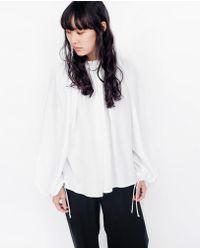 Shaina Mote - Lua Top / Salt - Lyst