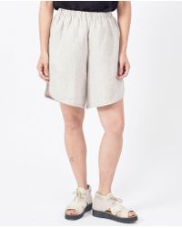 Priory Of Ten - Gao Shorts / Oat - Lyst
