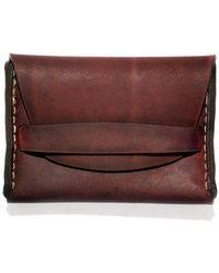 Makr - Rust Flap Wallet - Lyst