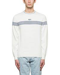 A.P.C. - Branding Sweater - Lyst