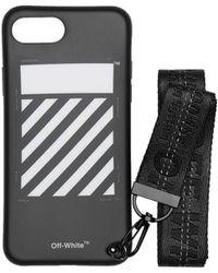 Off-White c/o Virgil Abloh - Iphone 8 Diag Strap Case - Lyst