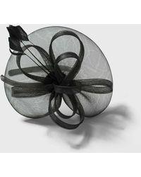 Wallis - Black Loop And Feather Fascinator - Lyst