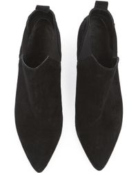 Warehouse - Suede Ankle Boot - Lyst