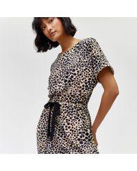 Warehouse - Cheetah Print Maxi Dress - Lyst