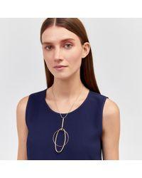 Warehouse - Loop Pendant Necklace - Lyst