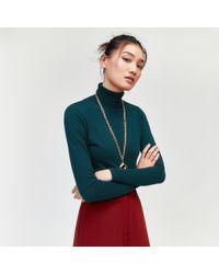 Warehouse - Polo Neck Jumper - Lyst