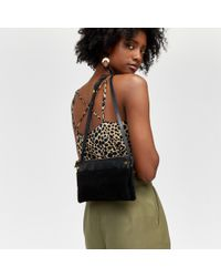 Warehouse - Cheetah Print Cross Back Cami - Lyst