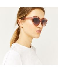 Warehouse - Embellished Sunglasses - Lyst