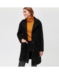 Warehouse - Teddy Bear Faux Fur Coat - Lyst