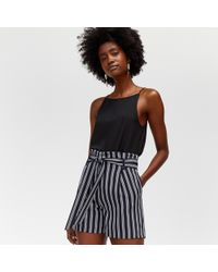Warehouse - Stripe Shorts - Lyst
