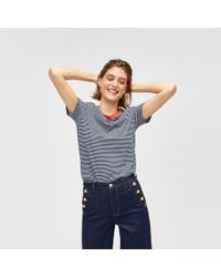 Warehouse - Nautical Wide Leg Jeans - Lyst
