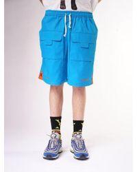 W Concept - [unisex] Super Shorts Blue - Lyst