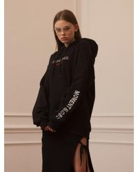 TARGETTO - Fatallence Hoodie Black - Lyst