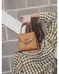 Little Liffner - [exclusive] Little Lady Bag_tan - Lyst