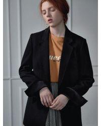 Clue de Clare - Cut-sewn Jacket Black - Lyst
