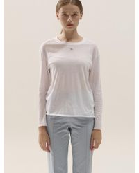 Blanc & Eclare - Louise Top Ss3512wh - Lyst