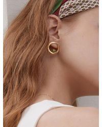 Matias - Round Candy Earrings - Gold - Lyst