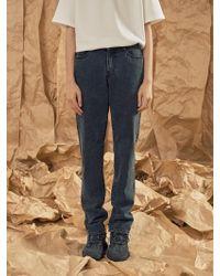 A.GLOWW - Normal Wide Black Jean - Lyst