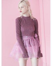 Fleamadonna - 17ss Bandana Printed Mini Lap Skirt - Lyst
