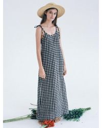 THE ASHLYNN - Selflove Mabel Linen Backless Maxi Dress - Lyst