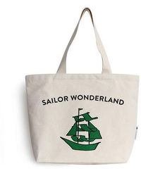 Biker Starlet - Sailor Canvas Bag Green - Lyst