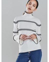 Blanc & Eclare - Rosalind Sweater_fw1724wb - Lyst