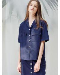 W Concept - D Pocket Shirts Nv - Lyst