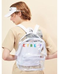 W Concept - (unisex)re Backpack(white) - Lyst