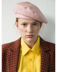Awesome Needs - [unisex] Classic Beret_leather Pink - Lyst