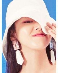 Blank - Jewel Drop Earring - Lyst