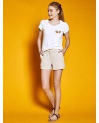 W Concept - Short Pants Beige - Lyst