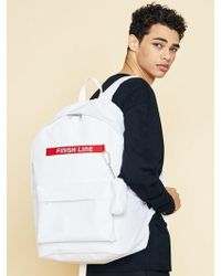 W Concept - Unisex-sd Fl Backpack-white - Lyst