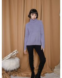 Petite Studio - Juniper Knit - Lavender - Lyst