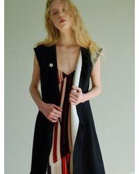 W Concept - New Fluid Vest- Black - Lyst