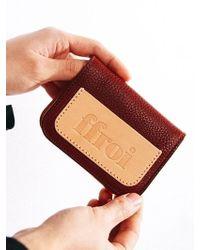 W Concept - [unisex]mini Folding Wallet - Lyst