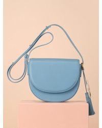 UNDER82 - Camilla Mini Shoulder Bag Sky - Lyst