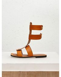 Low Classic - 17ss Button Point Gladiator Brown - Lyst