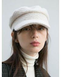92b64359dca Lyst - Norse Projects Cream Fairisle Alpaca-blend Beanie Hat in ...